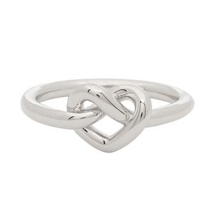 Kate Spade Silver Loves Me Knot Infinity Ring